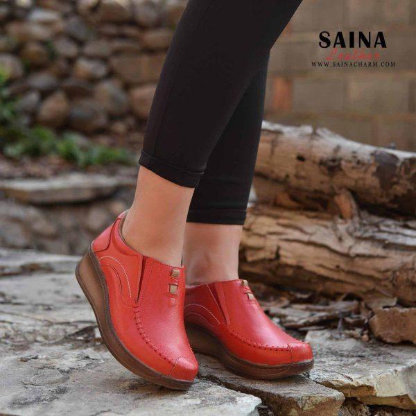 کفش زنانه راحتی ساینا چرم