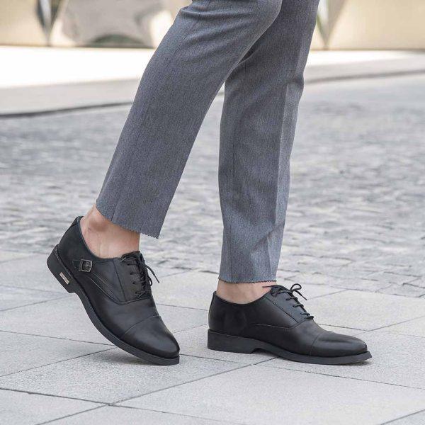 کفش مجلسی مردانه سورن ساینا چرم
